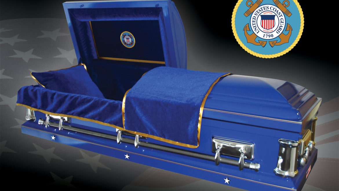 Coast Guard Casket